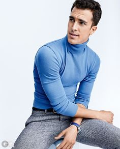 Think of turtlenecks as a T-shirt for winter. You'll look slimmer, handsomer, and more polished than ever