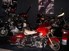 A few of Elvis' bikes - pic was taken during my 2008 visit.