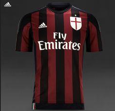 AC milan home 2015-2016 shirt
