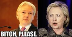 Hillary Clinton is desperate at this point to put a round between Julian Assange's eyes. The WikiLeaks CEO has reached rock star status over the past few months, as he continues to issue massive blows against her presidential campaign. However, Hillary recently resorted to more extreme methods to silence the infamous hacker, but it just blew up in her face and made her look incredibly foolish.