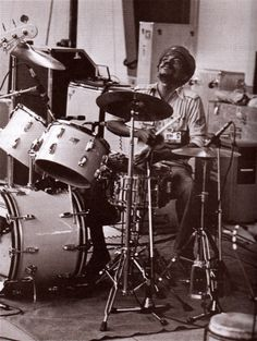Carlton Barrett and the Wailers band