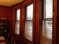 "Our customer said: ""We love our new blinds! They look spectacular! We have an historic home and the blinds look terrific even with our elaborate woodwork and trims. They look just like wood. We are buying more for sure."""