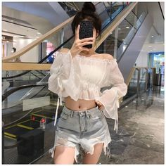 Dress White Casual Teen Fashion New Ideas Kpop Outfits, Korean Outfits, Girl Outfits, Fashion Outfits, Dress Fashion, Korean Fashion Trends, Korea Fashion, Asian Fashion, Casual Teen Fashion