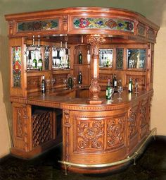 Best Home Bar Design Ideas, Themes and Gallery | Great room ...
