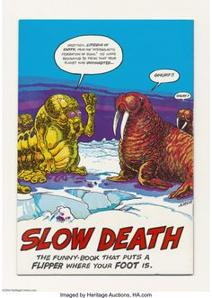 Slow Death #5 (Last Gasp, 1973) Condition: NM-. Rand Holmes cover; | Lot #16823 | Heritage Auctions