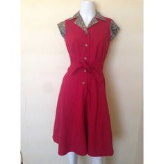 "Spotted while shopping on Poshmark: ""Rockabilly red vintage dress""! #poshmark #fashion #shopping #style #Dresses"