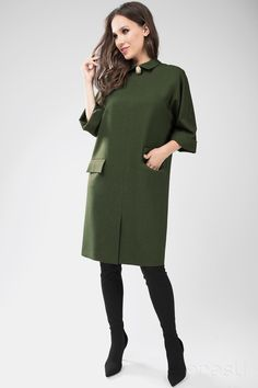 Hijab Fashion, Fashion Outfits, Womens Fashion, Chicwish Skirt, Short Dresses, Dresses For Work, Plain Dress, Business Casual Outfits, Green Fashion