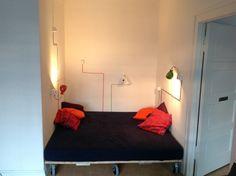 The U-bahn bed - house of Ceciliengarten - Berlin