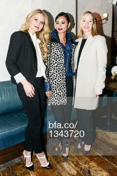 Jennifer Morrison, Jamie Chung, Lisa Axelson -  Event Title: ANN TAYLOR Changemakers Dinner -  Location: The Musket Room, NYC - Date: Mon, Dec 08 2014