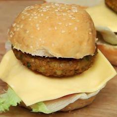 Soy Tikki/Patty Burger