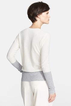 Colorblock Cashmere Crewneck Sweater by VINCE on @nordstrom_rack