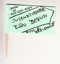 Jugendtheater Büro Berlin - Place of action, art, fun & resistance