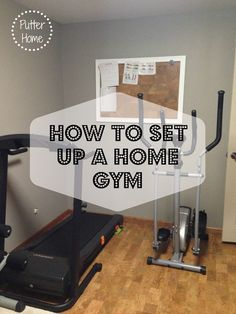 How To Set Up A Home Gym Putter Home Finished basement gym Diy Home Gym, Gym Room At Home, Home Gym Decor, Small Home Gyms, Gym Mirrors, Workout Room Home, Basement Gym, Basement Ideas, Home Gym Design