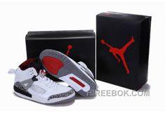 ece58d511fd755 Air Jordan 3.5 White Grey Red Offres Spéciales