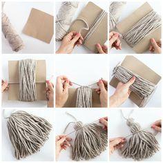 diy tapis pompon faire un pompon avec carton - Alessia Combley Yarn Crafts, Fabric Crafts, Diy And Crafts, Arts And Crafts, Recycled Crafts, Summer Crafts, Diy Tapis, Sewing Projects, Craft Projects