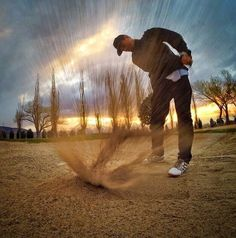 Just a very cool picture courtesy of Callaway golf.