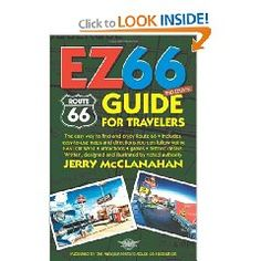 EZ Route 66 Guide for Travelers by Jerry McClanahan