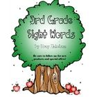This checklist has basic 3rd grade sight words.  The checklist has spaces for 1st and 2nd try, as well as, a small space for notes.  There are two ...