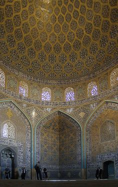 lotfollah mosque, isfahan oct. 2007 by seier+seier, via Flickr