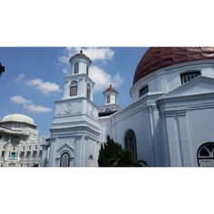 Blenduk Church at Semarang,Central Java