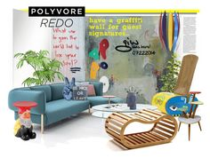 """Polyvore HQ Redo Contest Entry"" by ian-giw ❤ liked on Polyvore featuring interior, interiors, interior design, home, home decor, interior decorating, .wireworks, Bibi, Foscarini and MOROSO"