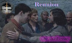 One Word Essay Series: Reunion of noble men