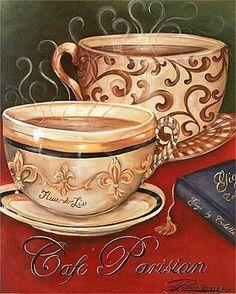 Coffee and Tea - Carla Simons - Picasa Web Albums Coffee Bar Home, Coffee Cafe, Coffee Mugs, Café Vintage, Saturday Coffee, Coffee Wall Art, Coffee With Friends, Coffee Theme, Cafe Logo