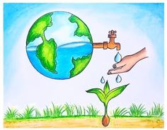 Art Articles- Detail information about Earth Day which is celebrated world wide, lets know more about earth day, posters, theme of earth day Importance Of Earth Day, Save Earth Posters, Earth Day Facts, Earth Day Drawing, Art Articles, Green Earth, Cool Posters, Natural World, Pin Collection