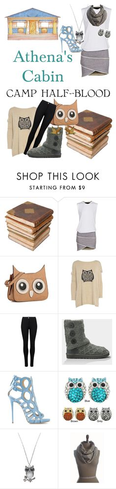 """""""Percy Jackson and the Olympians / Heroes of Olympus - Athena"""" by roishey ❤ liked on Polyvore featuring Ceramiche Pugi, Jay Ahr, Mix No. 6, AX Paris, M&S, UGG Australia, Giuseppe Zanotti, Kate Marie, Wet Seal and Camp"""