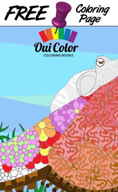 #Free #Ocean #ColoringPage from Oui Color Coloring Books