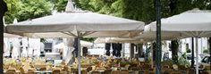 Tentes pour terrasses des cafés, hôtels, restaurants. Gazebo, Restaurants, Outdoor Structures, Patio, Outdoor Decor, Lobby Furniture, Tents, Terraces, Kiosk