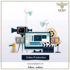No worries about giving your ideas a motion! Connect with us to create videos for your business with clarity, creativity and meaning.   #videoproduction #digitalmarketing #rpmgdigitech