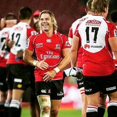 Francois 'Faf' de Klerk added a new photo. Rugby, Lions, South Africa, Sports, Hs Sports, Lion, Excercise, Sport, Exercise