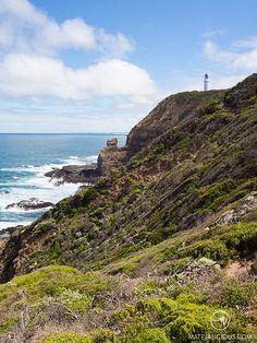 Cape Schanck Lighthouse - Matejalicious Travel and Adventure Sunset Colors, Rock Pools, London Bridge, Sandy Beaches, Ocean Beach, Weekend Getaways, Small Towns, Beautiful Landscapes, Lighthouse