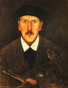 Tadeusz Makowski - Self portrait