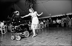 Wedding Photography handicapped mother father dance