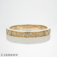 Eternity ring - Diamond ring - Wedding band - Diamond band - Wedding ring - Diamond eternity - Promise ring - 14k gold - Stacking ring