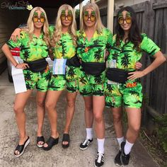 a47a33b7efb6 Girls dressing up as 'Crazy Hawaiian Tourists' in our Mens Cabana Sets.  These look good on the lads or the ladies. Fab Fancy Dress Costumes for luau,  fancy ...