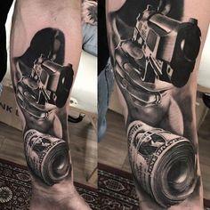 Cholo Tattoo, Chicano Tattoos Sleeve, Leg Sleeve Tattoo, Back Tattoo, Car Tattoos, Life Tattoos, Body Art Tattoos, Tattoos For Guys, Heaven Tattoos