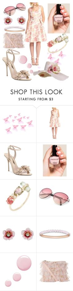 """Romantic beach walk"" by peridot11871 ❤ liked on Polyvore featuring Maggy London, Sophia Webster, Francesca's, Jacquie Aiche, Les Néréides, Thomas Sabo and Topshop"