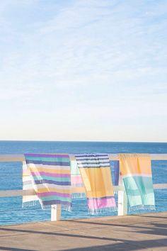 drying in the sea breeze