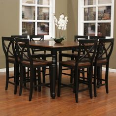 Felicia 9 Piece Counter Height Dining Set | Dining Tables | Pinterest |  Felicia, Dining And Counter Height Dining Sets