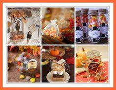fall favors fall wedding favors autumn favors