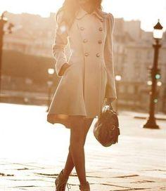 pretty pea coats for women