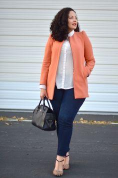 Girl With Curves: Peach