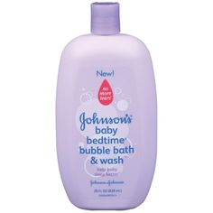Johnson's Bedtime Bubble Bath Wash 28 oz ($9.99) ❤ liked on Polyvore featuring baby, baby stuff, baby clothes, baby things, kids and filler