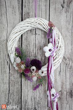 """Türkränze - Türkranz Sommer """"Lavendel"""" 2 - ein Designerstück von Rotkopf-design bei DaWanda"""