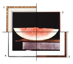 Great Options for a Stark Still Life | There's more than one way to maximize a piece of art. (In fact, there are at least four.) Corporate framing director Jeffrey Feigenheimer, of New York City's A.I. Friedman, suggests a few beautiful borders to help you get the hang of it.