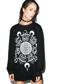 LONG CLOTHING LTD Grace Long Sleeve Tee | Dolls Kill