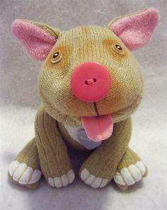 Babette | Custom Pittie ©2011 Original Sock Dogs, LLC | Stacey Hsu | Flickr